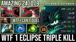 WTF Max Intelligence Steal + 1 Eclipse Triple Kill | Best OD Spammer Deleted Morph & LC - DotA 2