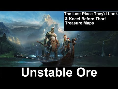 God of War Unstable Ore Location