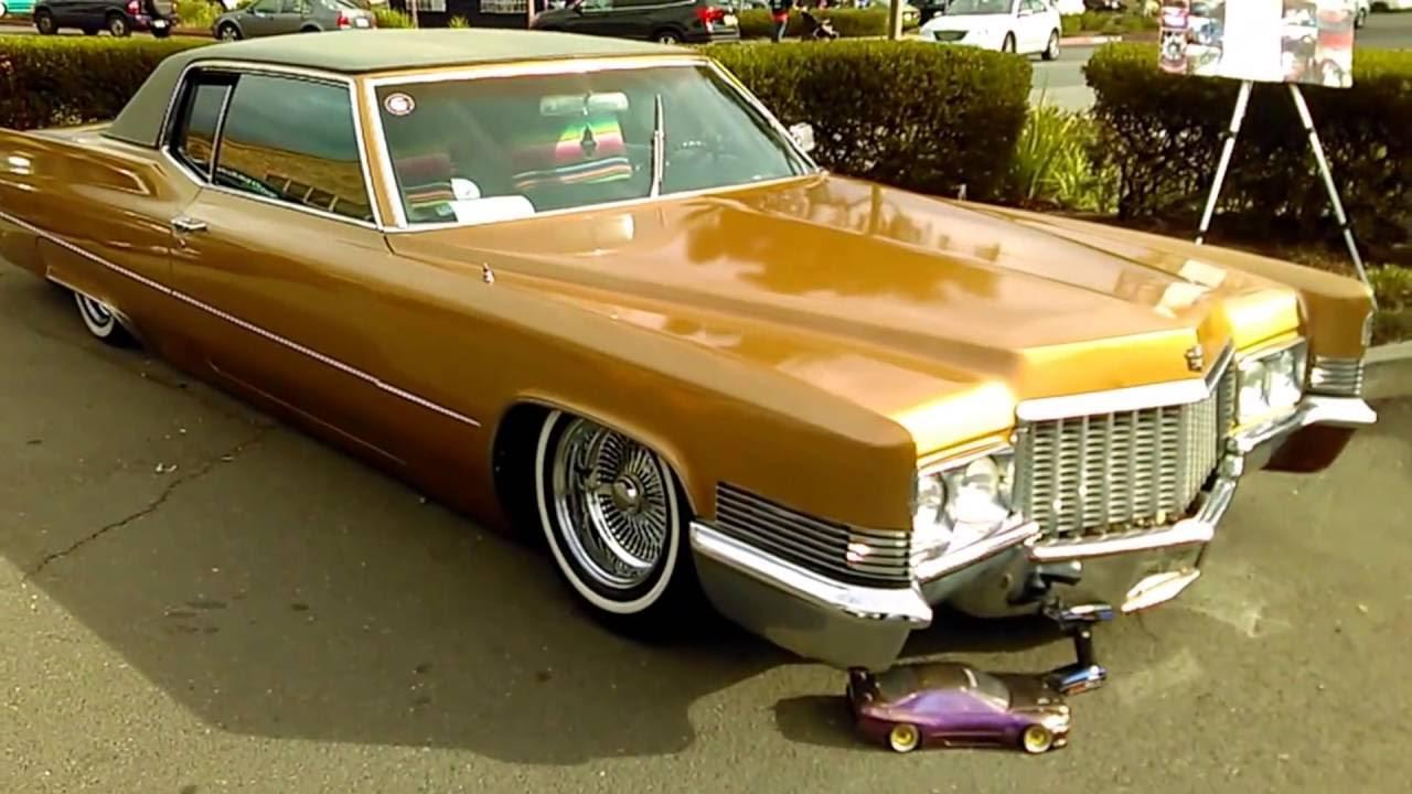 Bagged 60s 70s Cadillacs - YouTube