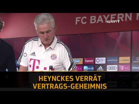 Bayern-Coach Jupp Heynckes verrät Vertrags-Geheimnis   SPORT1 - Der Tag