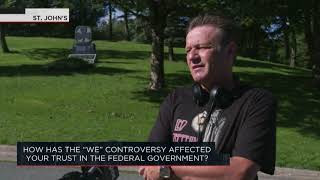 How has the WE Charity controversy affected your trust in the federal government? | Outburst