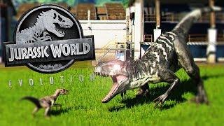INDOMINUS REX NEGRO CONTRA RAPTORES MUTANTES! JURASSIC WORLD EVOLUTION