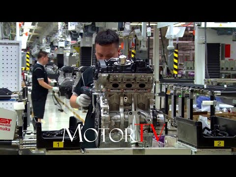 CAR FACTORY : BMW ENGINES PRODUCTION (3 & 4 CYL) l Dadong Plant in Shenyang (CHINA)