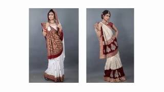 Gujarati Bridal Saree Panetar Online Shopping