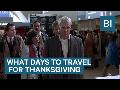 Jim E. Chonga - The Best Times to Do Thanksgiving Things (Travel, Shop, etc.)