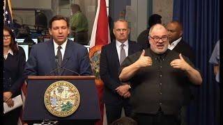 Florida Gov. DeSantis Gives Coronavirus Update | NBC 6