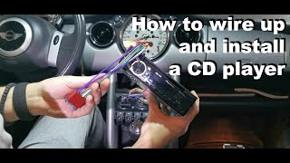 Kako povezati i ugraditi cd plejer / How to wire up and install a CD player