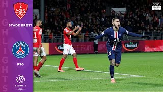 Stade Brest 1 2 Psg   Highlights & Goals   11/9/19