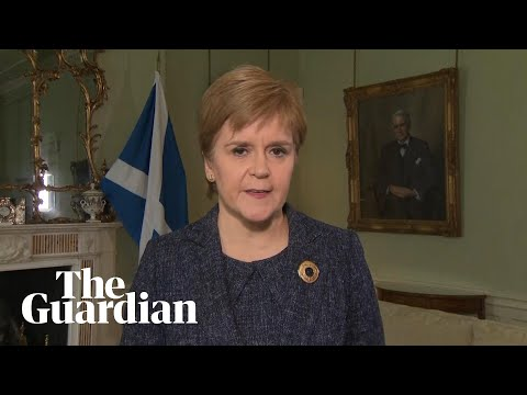 Nicola Sturgeon calls on Boris Johnson to resign