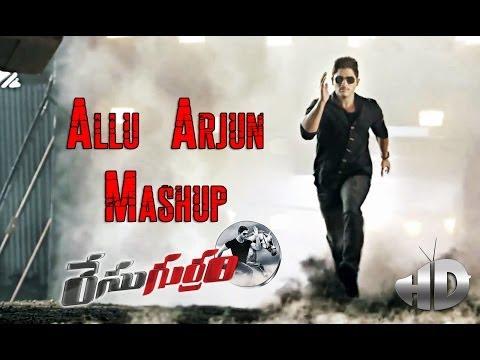 Stylish Star Allu Arjun Stylish Songs Mashup - Race Gurram Songs - Shruti Haasan