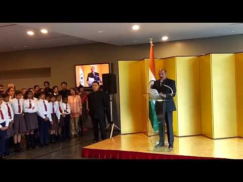 Independence Day celebration at Embassy of India in Japan