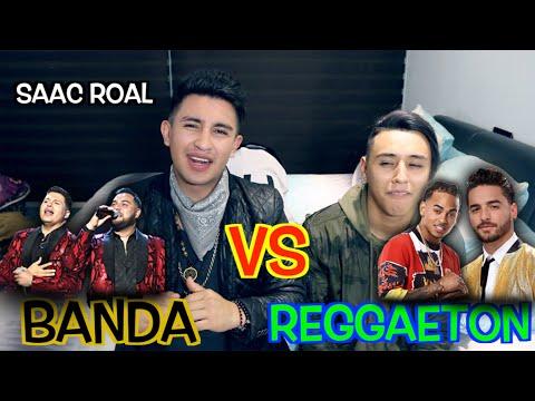 Cantantes de Banda Vs Reggaeton ft. Saac Roal |Soy Fredy