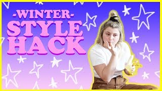 winter style hack for my party people | what to wear