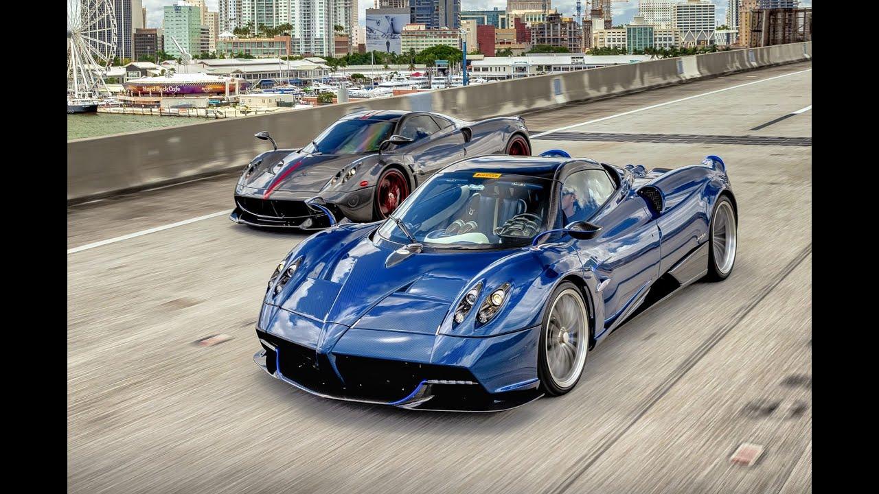 Pagani Huayra Roadster VS Pagani Huayra Vulcan - BEAST VS BEAST Behind The Scenes from Pagani Miami