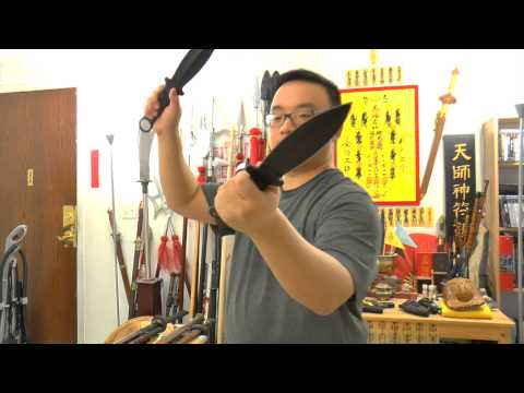 Tactical Knife Fighting Lesson 16 - Cold Steel Shanghai Shadow (Double) Primary Grip Combat