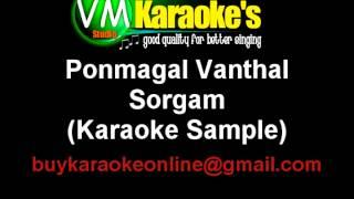 Ponmagal Vanthal Karaoke Sorgam