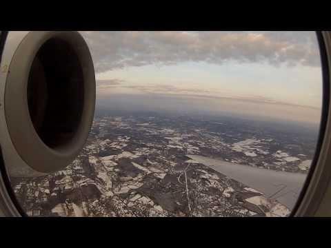 YQB to EWR Full flight video