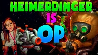 Heimerdinger Troll Game Play Epic ! LOL [ 2016 ] [ s6 ]