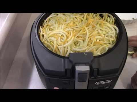 Creamy Chicken Squash Pasta Air Fryer Youtube