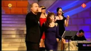 Lange Frans & Glennis Grace - Empire state of mind [Live @ Beste zangers van Nederland 2011]