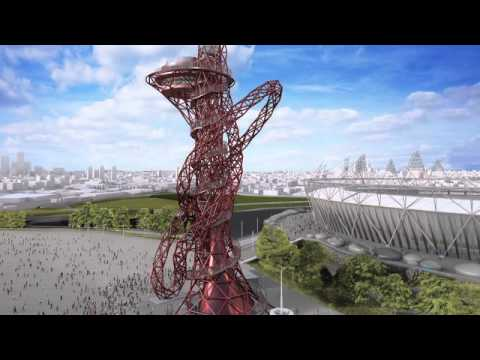 Olympic Park Arcelor Mittal Orbit tops out