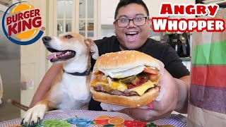 Burger King Angry Whopper | Food Review