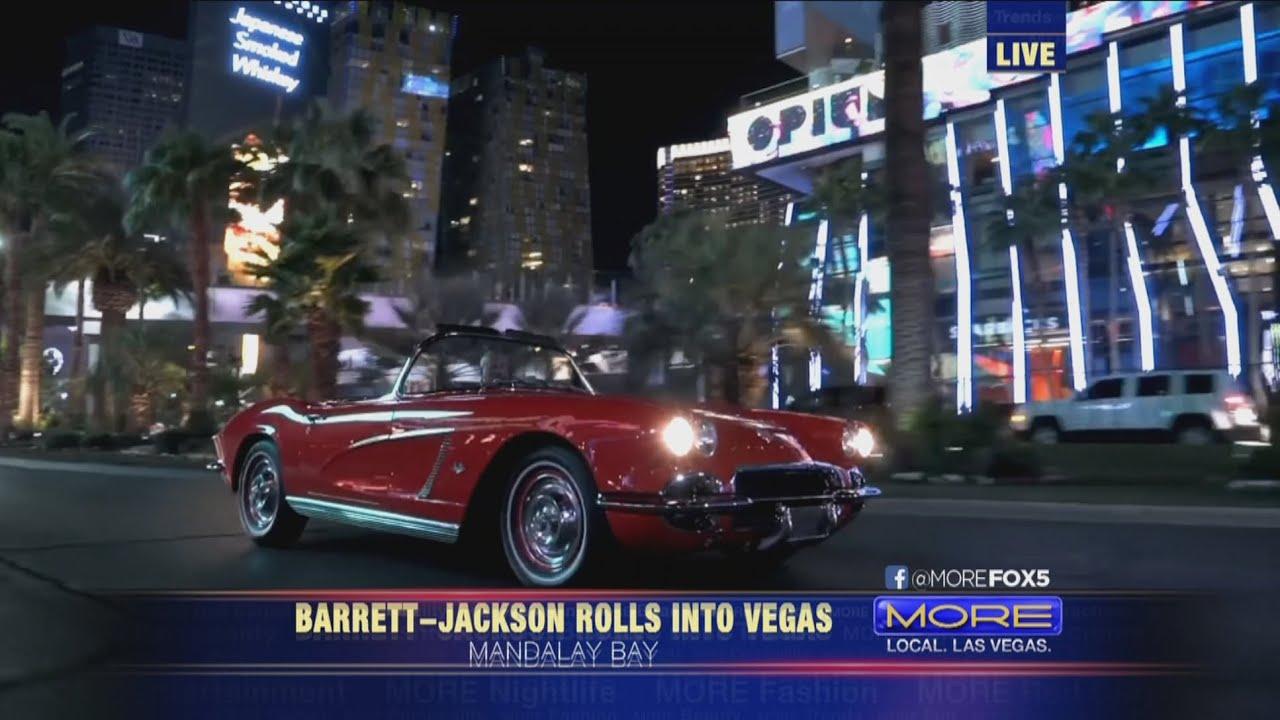 Las Vegas Auction >> Barrett Jackson Car Auction In Las Vegas Sky Statement