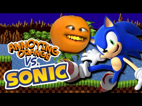 Annoying Orange Vs Sonic The Hedgehog!