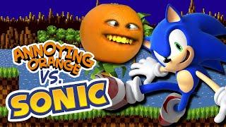 Annoying Orange vs Sonic the Hedgehog!