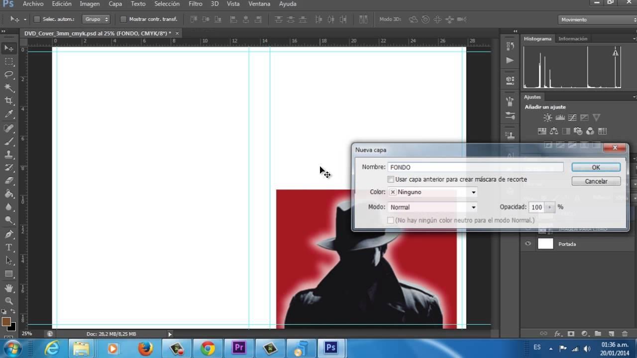 Cómo diseñar una portada de libro en Photoshop - YouTube