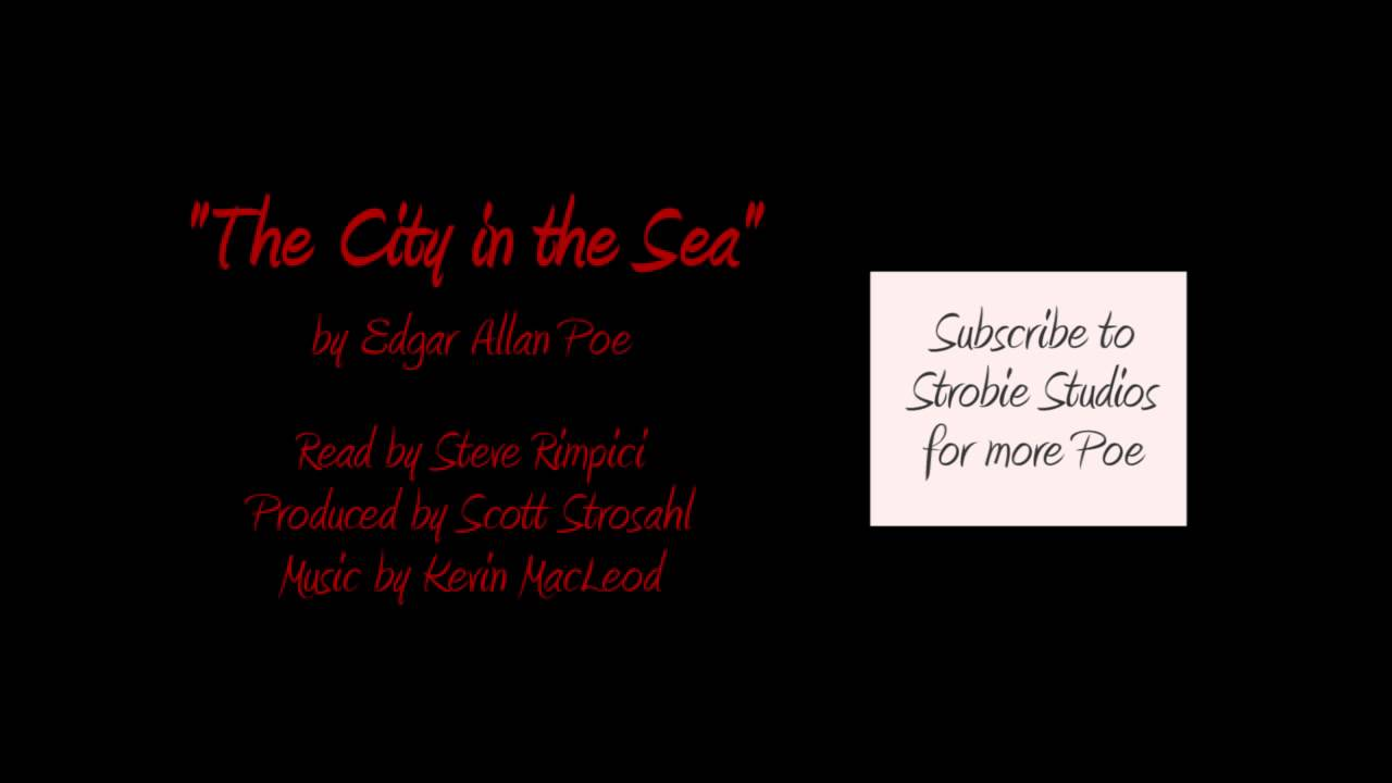 edgar allan poe the city in the sea analysis
