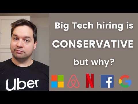 Big Tech Hiring is Conservative - But Why? (from an ex-Uber engineering manager)