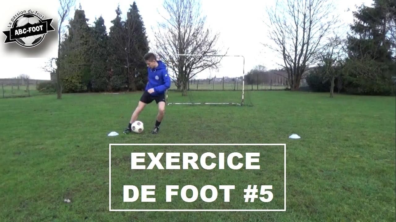 Exercice De Foot #5 Le crochet - YouTube