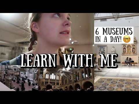 6 MUSEUMS IN A DAY (be Nerdy With Me In London) || Ruby Granger