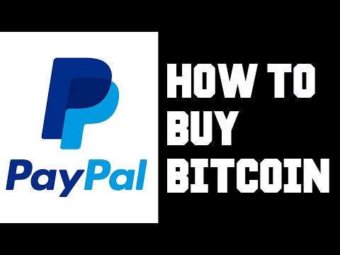 Paypal How To Buy Bitcoin - Paypal How To Buy Crypto - How To Buy Bitcoin Through Paypal Help Guide