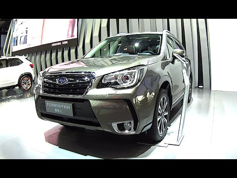 2016 2017 Subaru Forester Suv All New Model