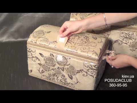 Шкатулки для украшений и рукоделия золотые розы - posudaclub.kiev.ua