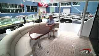 Hatteras 60 Motor Yacht Features 2012- By BoatTest.com