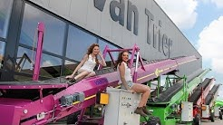 Sexy ladies at van Trier Europe! + Pink Breston Store Loader