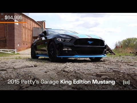 2015 Petty's Garage King Edition Mustang for sale