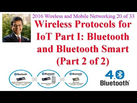 CSE574-16-10B: Introduction to Bluetooth and Bluetooth Smart (part 2 of 2)
