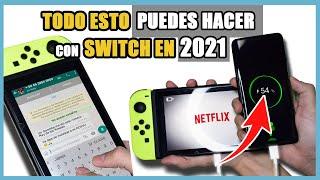 50 SECRETOS y DETALLES ALUCINANTES de Nintendo Switch (2021) | N Deluxe  | N Deluxe