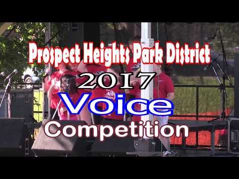 2017 Prospect Heights Park District Voice Competition