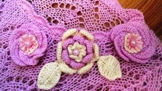 Мастер-класс по вязанию основного узора для ажурного женского свитера спицами