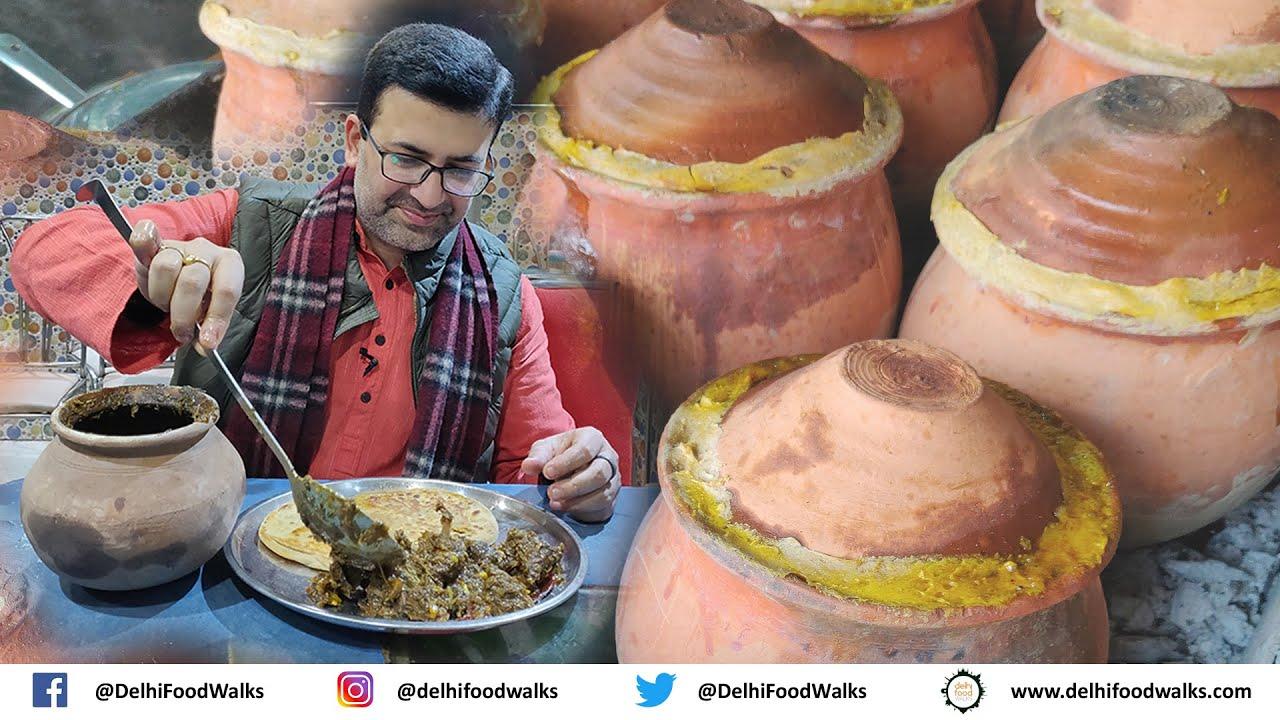 World Famous CHAMPARAN MEAT CURRY aka Ahuna/Handi Meat - Story, recipe & tasting