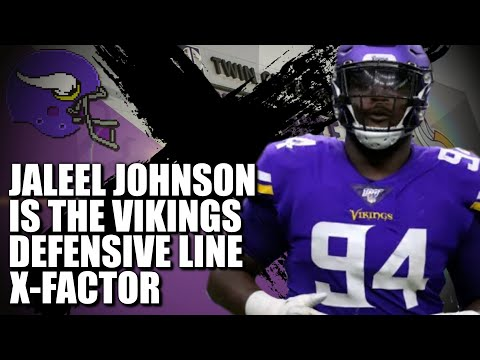 Jaleel Johnson is Vikings D-Line X-Factor ❌❌❌