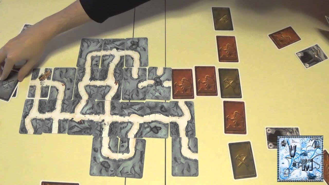 Saboteur juego de mesa gameplay youtube for Viciados de mesa