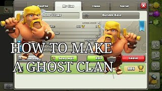 HOW TO MAKE A GHOST CLAN? HACK? TRICK? MUST WATCH ||TH6 MAX GIVEAWAY||