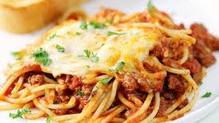 Baked Spaghetti  EASY TO LEARN  QUICK RECIPES  EASY TO LEARN  QUICK RECIPES