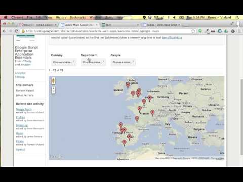 Awesome Maps - Add filters on a Google Maps